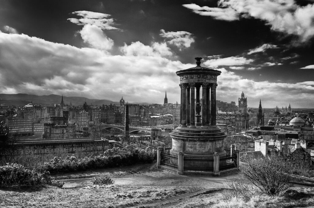 View from Calton Hill - Edinburgh