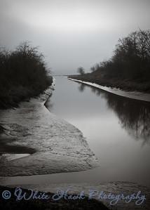 Still water, in B&W