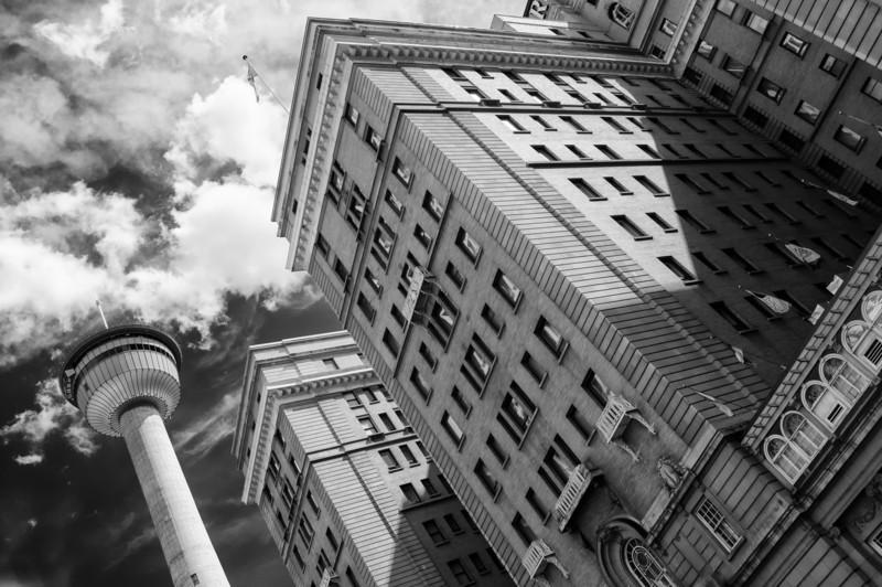 Calgary Tower and Fairmont Palliser Hotel