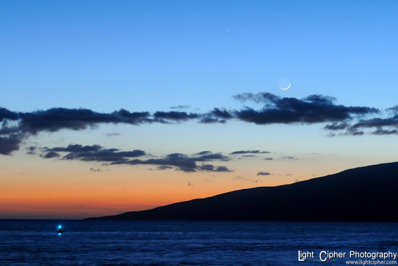 Moon over Lanai