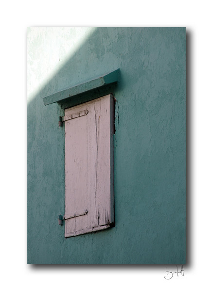 Alley Window, Grand Case, Saint Martin