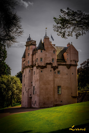 Craigievar Castle back