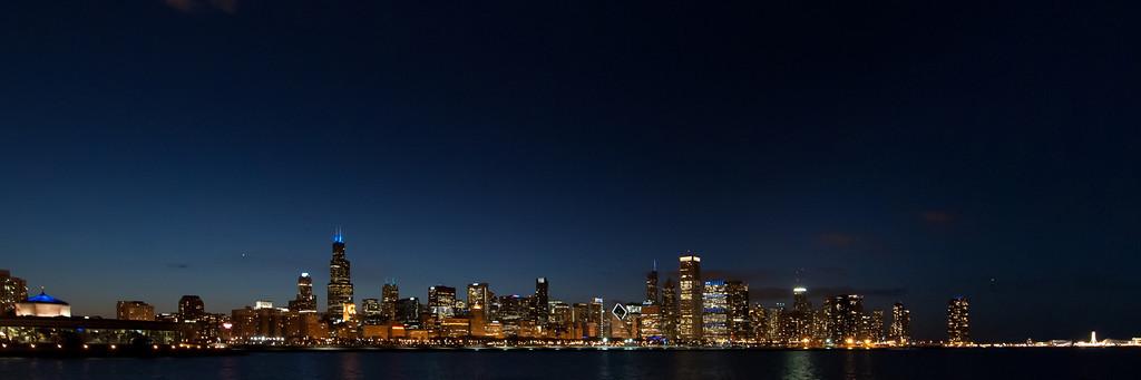Chicago Skyline, 2013
