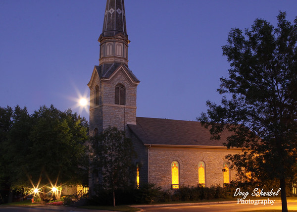 Moonlit Steeple