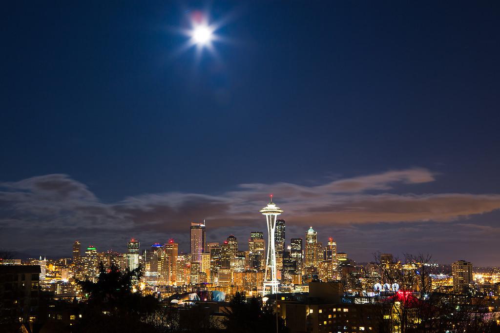 Midnight Seattle