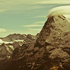 "<div class=""boxTop""><h3 id=""galleryTitle"" class=""title notopmargin"">Mt. Eiger, From Murren, Switzerland, 2010</h3> We spent a couple nights of our honeymoon in Murren, a carless town in the Swiss Alps just across the valley from Eiger. I used to rock climb quite a bit, so I was obsessed with shooting this mountain. The weather patterns around the summit and the constantly changing light fascinated me. It looked completely different about every half hour."