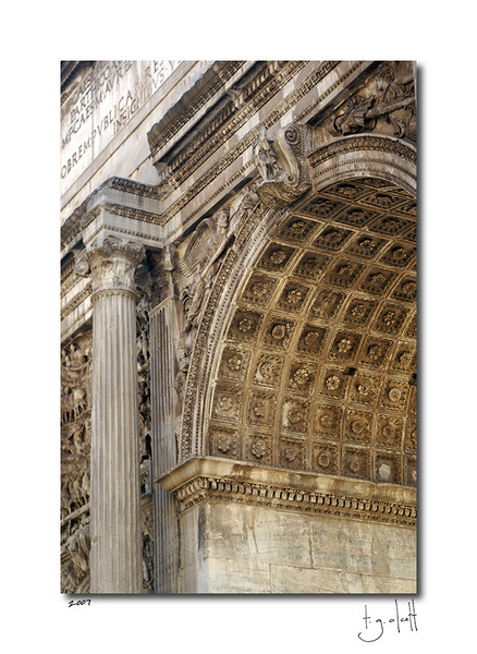 Arch of Septimius Severus, Roman Forum