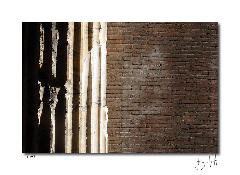 Column Detail, Rome
