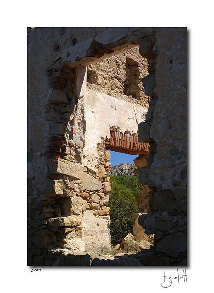 House Ruins, Isola Caprera