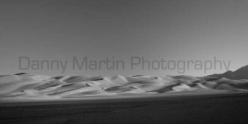 Great Sand Dunes National Park at sunrise