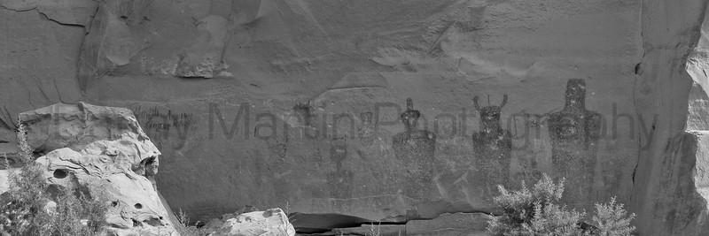 Sego Canyon pictographs.  Utah.