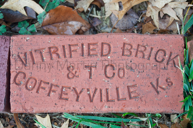 Coffeyville Vitrified Brick<br /> Harvey County, Kansas.