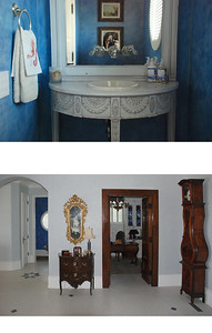 blue bath and foyer 2