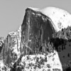 "<font face=""Papyrus"" color=""#5D92B1"" size=""5"">Half Dome in Snow</font> Yosemite <font face=""Trebuchet MS"" size ""3""><i>Image I.D. #:  M-11-002</i>"