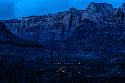 Zion Blue Hour #1