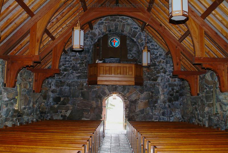 Inside Saint Ann's Church