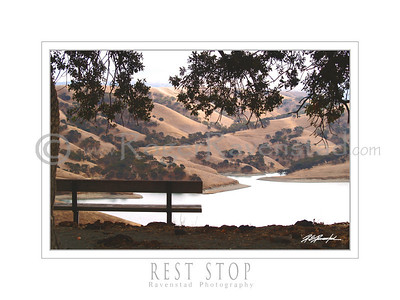 "18X24 Poster: ""REST STOP"" $49.95"
