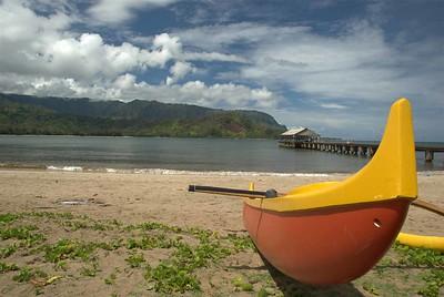hanalei bay canoe small