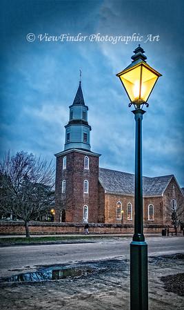 Winter at Bruton Parish