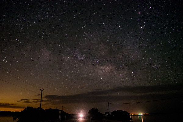 Milky Way over Everglades City