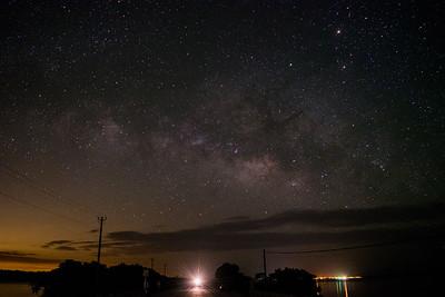 Milky Way over Everglades City