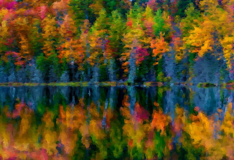 Impressionist Fall Colors