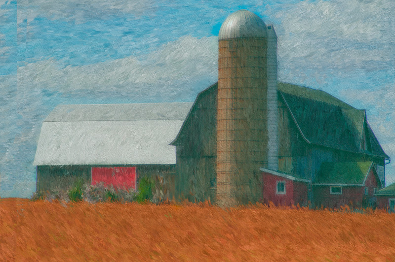 Oil and Canvas Barn