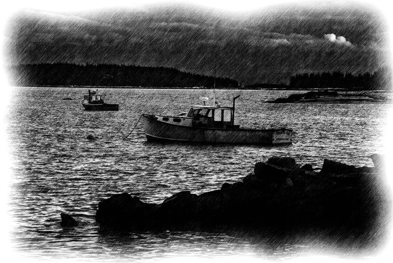 Lobster Boats; Stonington, Maine