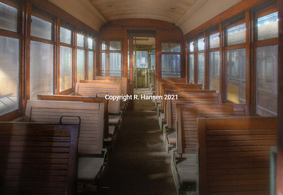 HDR Portfolio/ Trolley car Museum