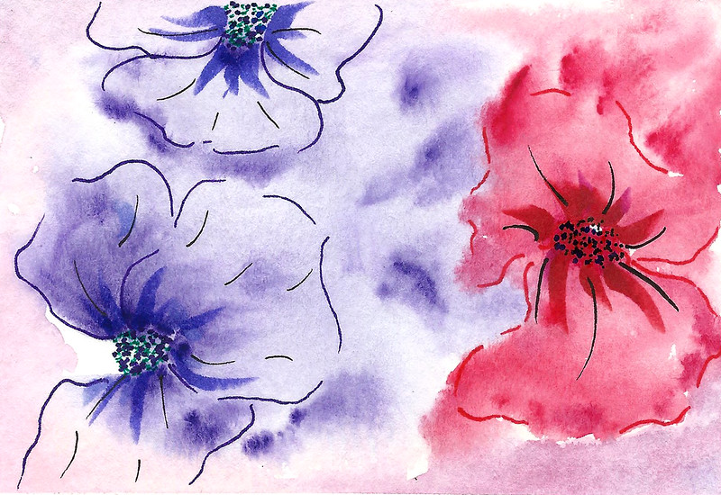 0006-hand painted greeting cards