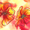0009-hand painted greeting cards