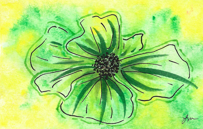 0013-hand painted greeting cards