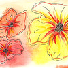 0016-hand painted greeting cards
