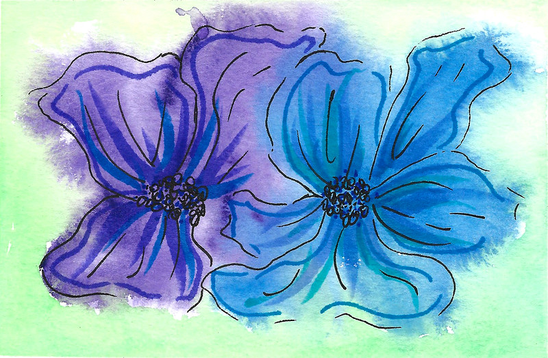 0004-hand painted greeting cards