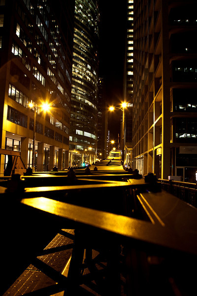 """Chicago At Night #7180<br /> 12"""" x 18"""" Unmounted Print - $25<br /> Quotes for other sizes, media and mounting or framing upon request. edit"""