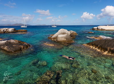 Snorkeling in the Baths