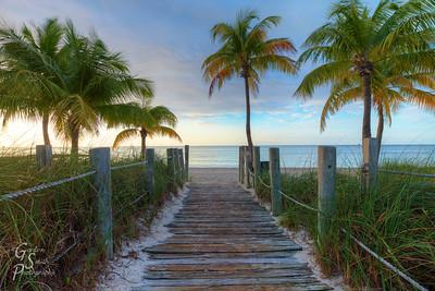 Smathers Beach Entrance