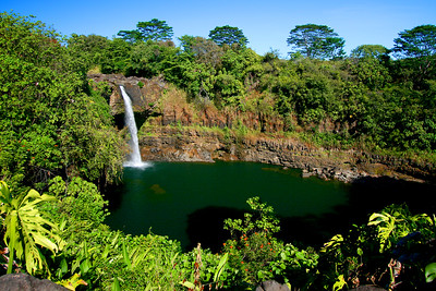 Puna Coast, Rainforest and Waterfalls