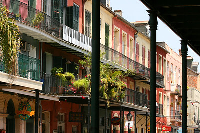 New Orleans, Louisiana, French Quarter. March 2008