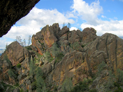 Pinnacles National Monument, California. April 2006. East Entrance