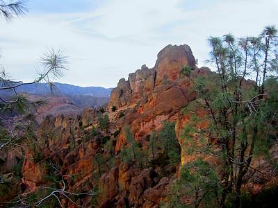 Pinnacles National Monument, California. November 2002