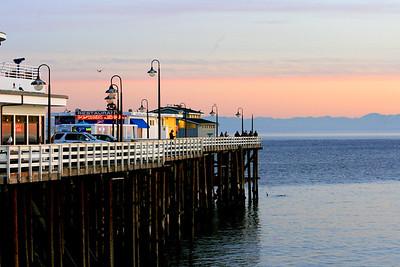 Views from the Wharf, Santa Cruz, California. December 2008.
