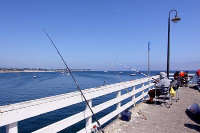 Views On and From the Wharf, Santa Cruz, California. May 2009.