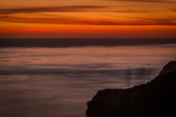 West Cliff, Santa Cruz, California. November 2012.