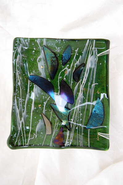 """Rain Forest Gold Collection: """"Connections""""<br /> 6"""" x 7""""<br /> $400"""