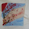 "Cherry Blossom Billows<br /> <br /> 12"" x 12""<br /> (SOLD)"