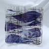 """Whale Watch"" - heavy bowl, substantial piece<br /> 11"" x 11"" x 4""<br /> <br /> Sold  ($500)"
