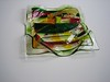 "another view, glass bowl, 7"" x 7""<br /> <br /> $275 (SOLD)"