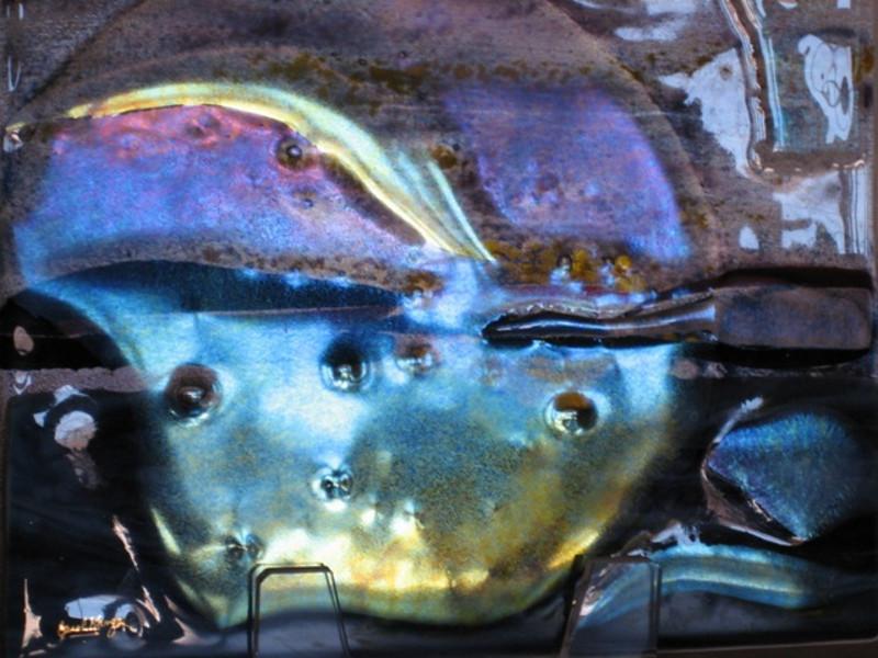 "Half Moon Bay<br /> 10"" x 12""   detail"
