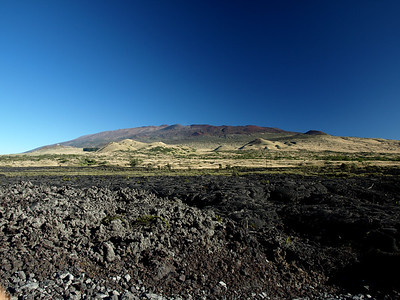 Mauna Kea Volcano & AA Lava feilds